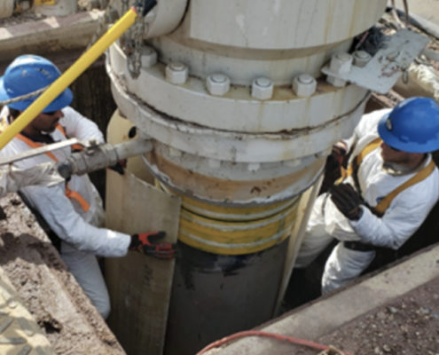 MADCON Services Strengthening-Conductors Well Casings Project