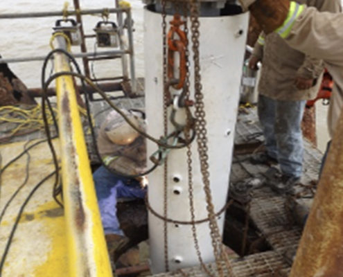 Parted Conductor Repair and Strengthening Project