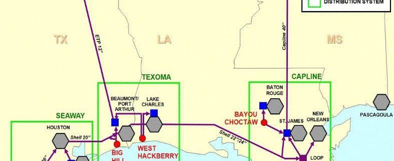 US Strategic Petroleum Reserve